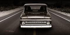 """Slightly off centre"" (Neil Banich Photography) Tags: neilbanichphotograhy coolcars coolhotrods 1962 1962cheypickup automobile chevrolet custom hotrods truck trucks"