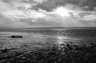 Thurstaston abandoned dinghy
