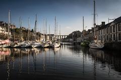 Le Port de Morlaix... (De l'autre côté du mirOir...) Tags: leportdemorlaix morlaix port bateaux eau ville bretagne breizh brittany fr france french nikon nikkor d810 nikond810 240700mmf28 finistère