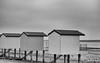 Various shades of grey (Dan Elms Photography) Tags: beach beachhuts beacheslandscapes huts hut shed posh mono monochrome blackandwhite blackwhite bw essex coast coastal shelter grey shades colour greyasacolour