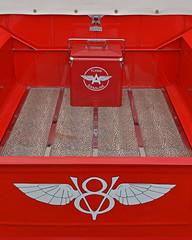 Flying A.. (Harleynik Rides Again.) Tags: v8 truck red gasoline flyinga harleynikridesagain