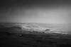 Cold Rosedale (aveyardphotography) Tags: rosedale valley dale north yorkshire hills nature landscape copse distant mono monochrome cloudy cold weather winter houses farms light