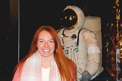 Astronaut Lady...... (law_keven) Tags: drjackiebell doctorjackiebell astronauts astronaut space nasa thesciencemuseum sciencemuseum london england photography portraitphotography portraits woman girls female bbc2 bbc science scientist physics physicists