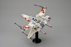 X-Wing T65 Fighter Midi-scale (Pasq67) Tags: lego pasq67 afol toy toys flickr legography 2018 france moc starwars star wars xwing fighter midiscale incom t65 starfighter