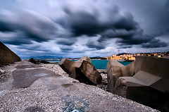 (fabiocalandra) Tags: sicilia sicily italia italy landscape seascape paesaggio mare sea sunset sunrise tramonto sky cloud long exposure