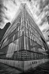 Freedom (questforfire2010) Tags: worldtradecenter newyork manhattan freedomtower blackandwhite architecture tallest