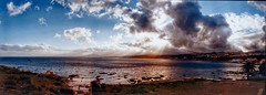 IMG_20180204_0004 (anyera2015) Tags: ceuta panorámica panorama noblex 135s 135 fuji fujifilm superia 100 caducado expired noblex135s fujifilmsuperia100 playa nubes nublado bahía grouptripod