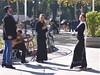 Flamenco dancers - Seville (TeaMeister) Tags: train europe interrail seat61 travel spain espana seville sevilla andalusia eu europeanunion moorish islamic dance flamenco dancers culture grime createyourownstory