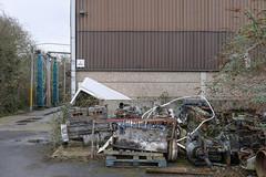 Lower Road (Crusty Streets) Tags: lower road northfleet gravesham kent industrial waste engine warehouse unit