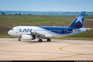[MVD.2015] #LAN.AIrlines #LA #LAN #Airbus #A319 #CC-CPE #AWP