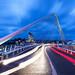 Santiago Calatrava Bridge in Liege