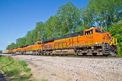 National Train Day - Train #1 (tim_1522) Tags: railroad railfanning rail missouri mo bnsf burlingtonnorthernsantafe cuba sub subdivision siding generalelectric gevo es44c4 gp50 gp28m nationaltrainday2014