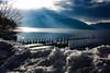 Snow, Sun & Mountains At Lake Chuzenjiko, Nikko (El-Branden Brazil) Tags: nikko asia asian japan japanese snow ice tochigi chuzenjiko lakechuzenjiko
