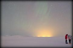 """Aperture they said?"" (Iceland) (armxesde) Tags: pentax ricoh k3 island iceland northernlights polarlights polarlichter nordlichter auroraborealis winter schnee snow green grün sky himmel stern star people photographer personen fotograf"