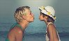 Heaven beach (Red Gecko Photography) Tags: mediterranean love mother daughter kissing heavenbeach people sunkissed