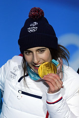 Ski acrobatique - Bosses femmes (France Olympique) Tags: 2018 acrobatique bosses coree freestyle games goldmedal jeux jeuxolympiques jo korea moguls olympic olympicgames olympics olympiques podium pyeongchang ski skiing south sport sud victoryceremony winner winter women coréedusud