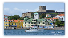 1 of 9 new for my album Marstrand. (Look in my album MARSTRAND) (2) (andantheandanthe) Tags: marstrand bohuslän westcoast sweden island carlstens fästning carlsten fortress castle motorboat motor boat boats houses church architecture sea water