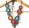 Ciranda das cores (Lidia Luz) Tags: crochê crochet colar necklace handmade lidialuz