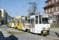 GER_362_200403 (Tram Photos) Tags: gera tram tramway strasenbahn ckd tatra kt4d gvb