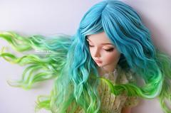 DSC_0077 (sonya_wig) Tags: fairytreewig bjdwig minifeewig bjd bjdminifee minifeemirwen handmade doll bjddoll dollphoto fairyland fairylandminifee minifee mirwen coloringhair bjdphotography