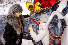 Gift for Valentine's Day (Shah Sharah) Tags: aoki akella anothersecret ios chaos wolf yaoi bjd boys horse heartvalentine m21 mrrabbit handmade