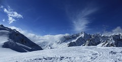 Vichères (bulbocode909) Tags: valais suisse vichères montagnes nature paysages hiver neige nuages bleu montdolent massifdumontblanc valferret