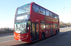 Rare Comeback (Unorm001) Tags: red london double deck decks decker deckers buses bus routes route diesel hybrid electric dieselelectric battery batteryelectric hybridelectric 2432 sn61cys sn61 cys