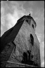 A tower (Moryc Welt) Tags: fomapan t200 asa200 agfaoptima535sensor agfa optima toycamera katowice poland silesia europe epsonv600 d25 avantor ad17