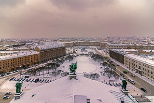 The Top Of Saint Isaac's Cathedral
