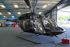 G-TOPI Bell 407GXP Booker High Wycombe Aero Expo 03rd June 2017 (michael_hibbins) Tags: gtopi bell 407gxp booker high wycombe aero expo 03rd june 2017 aviation aircraft aeroplane aerospace airplane air airshow aeroexpo civil private executive helicopter heli helicopters