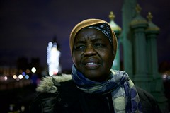 IMG_7482 (JetBlakInk) Tags: portrait blackwoman streetphotography streetpreacher african nightphotography westminsterbridge christian jesusdisciple missionary