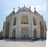 Taj Mahal. Agra, India. (RViana) Tags: india southasia भारत 印度 インド inde indien индия architecture style design arquitectura estilo diseño larchitecture lestyle laconception architektur stil arquitetura