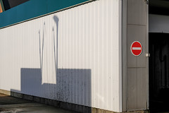 Seally Road (Crusty Streets) Tags: seally road england uk car wash morrisons no entry sign shadow grays thurrock essex