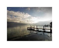 Come to love me again (nathaliedunaigre) Tags: lac lacdannecy lake lakeofannecy light lumière pontons eau water ciel sky nuages clouds paysage landscape hautesavoie france