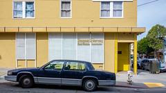 gumshoes trangams (bhautik_joshi) Tags: sf sanfrancisco california sfist bayarea bhautikjoshi car vehicle parked parking mission themission missiondistrict unitedstates us