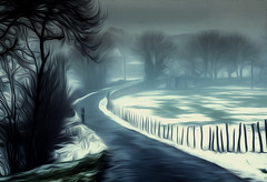 la fotografa en Goiuri 2 (juan luis olaeta) Tags: paisajes landscape nieve elurra fog nieblas laiñoa canoneos60d lightroom photoshop goiuri araba