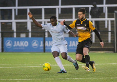 Cray Wanderers 1 Lewes 2 20 01 2018-569.jpg (jamesboyes) Tags: lewes cray bromley football bostik isthmian fa soccer action goal game celebrate celebration sport athlete footballer canon dslr