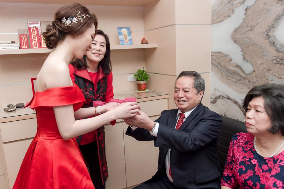婚攝 高雄林皇宮 婚宴 時尚氣質新娘現身 S & R 012