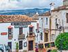 Streets of Ronda (FotoMemi) Tags: nikond700 ronda scenery nikkor24120mm flickr digital streetscape steep cobblestones d700