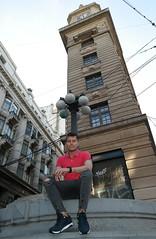 Felipe & Edificio del Reloj Turri (mcg0011) Tags: valparaíso felipe edificiodelrelojturri manuelcarrasco diadorav7000