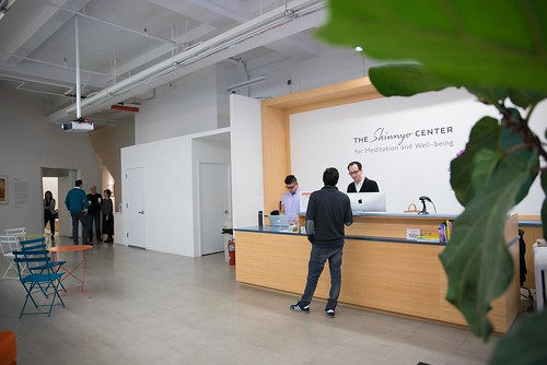 The Shinnyo Center Lobby