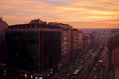 Sunrise from the room (A. Wee) Tags: milano lombardia italy it milan 米兰 意大利 sunrise 日出