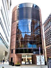 London England (duaneschermerhorn) Tags: architecture building structure architect modern contemporary modernarchitecture contemporaryarchitecture reflection reflective reflectivebuilding glass windows glassclad mirror distortion
