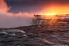 Niagra Falls - -4 (digithief) Tags: d750 niagrafalls nikon ice ontario sunrise winterfrozen niagarafalls canada ca