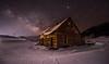 THE OLD BARN '18 (WilsonAxpe) Tags: colorado winter barn oldbarn nightscape nightphotography milkyway stars