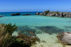 Tobacco Bay (quiggyt4) Tags: bermuda tobaccobay caribbean beach beaches water turquoise stop stopsign signage roadsign rocks boulder shoreline bay stgeorges fort fortstcatherine trafficsign boat boating atlantic atlanticocean coral fish ocean british britain greatbritain territory brexit england uk unitedkingdom occupy ows occupywallstreet ronpaul trump donaldtrump