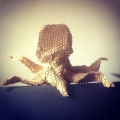IMG_2014 (MAD FOLDER) Tags: origami pliage papier leplieurfou madfolder octopus tesselectopus tesselation