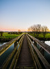 Eyebridge at dusk (R M Photography) Tags: nikon nikonfxshowcase inspiredbylove d3300 sky sunset eyebridge dusk river stour riverstour tree trees bridge tokina tokina1116 tokina1116mm