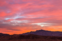 December Fire (James Marvin Phelps) Tags: james marvin phelps photography lake mead national recreation area st thomas clouds nevada color december desert sunrise âjmpphotography