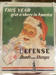 "RARE SANTA WAR BONDS POSTER.  $250 EACH. • <a style=""font-size:0.8em;"" href=""http://www.flickr.com/photos/51721355@N02/25755145058/"" target=""_blank"">View on Flickr</a>"